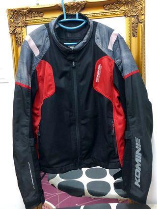 Authentic Komine JK-116 Riding Jacket