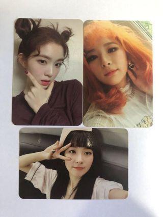 🚚 WTT/WTS Red Velvet Photocards