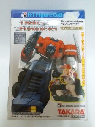 Takara變形金剛 Transformers 海洋堂情景盒蛋全5種(不散賣)