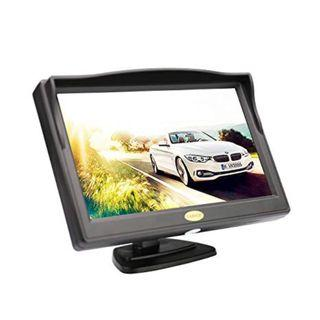 ClpopZIZ Car Rear View LCD Monitor (Camera not included)