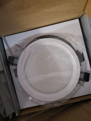 🚚 LED Downlight Round Shape with Glass sides 12W 3 colors