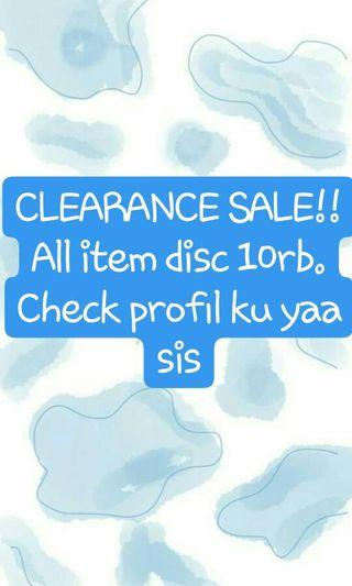 Disc 10rb all item