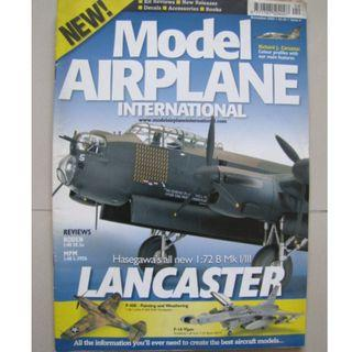 TAMIYA MODEL AIRPLANE INTERNATIONAL MAGAZINE