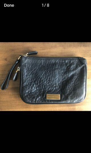 Marc by Marc Jacobs Pebbled Leather Clutch