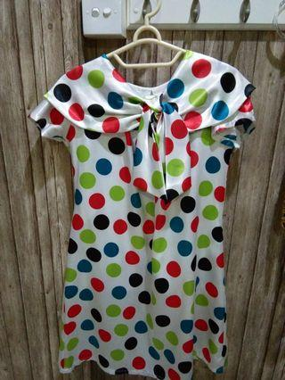 Mididress polkadot