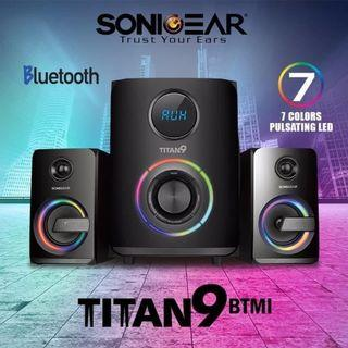 Sonigear  Titan 9 RGB BTMI Bluetooth Multimedia Speaker with Remote Control