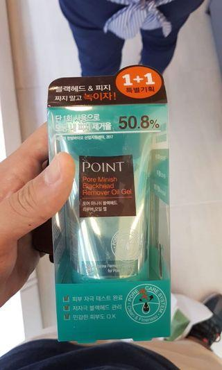 POINT PORE MINISH BLACKHEAD REMOVER OIL GEL