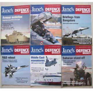 JANE'S DEFENCE WEEKLY, JANE'S INTERNATIONAL DEFENCE REVIEW & JANE'S NAVY INTERNATIONAL MAGAZINES