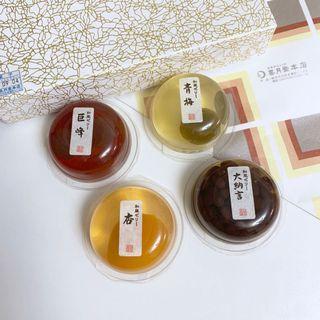 🚚 日本喜月堂菓子4個