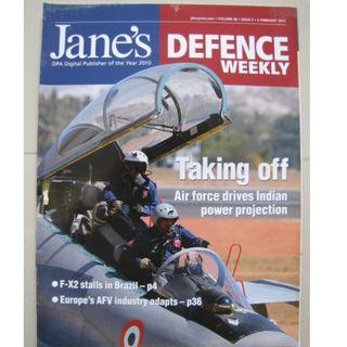 JANE'S DEFENCE WEEKLY MAGAZINE