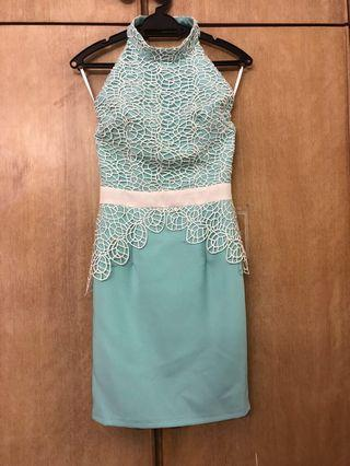 Tiffany blue dress/ Cocktail dress #junetogo