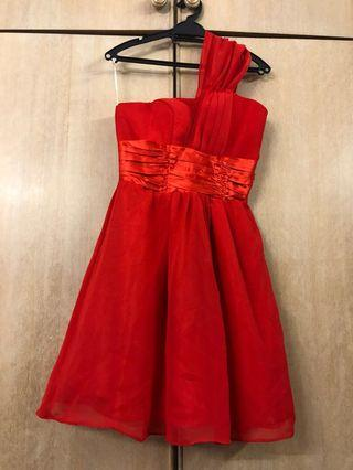 Red Dinner Dress #junetogo