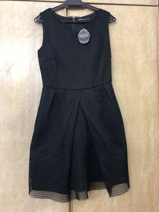 Neoprene eyelet dress #junetogo