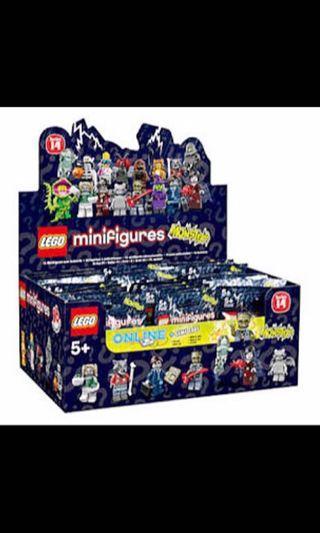 🚚 Lego Series 14 Boxset Of 60 Minifigs Minifigures 71010 New MISB Unopened MINT BOX SEALED