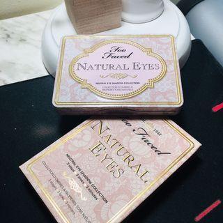 Natural Eyes Eyeshadow Pallete