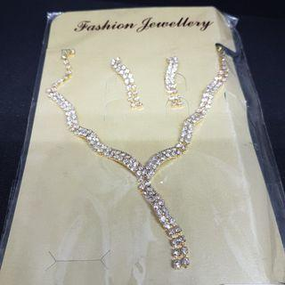 BNIP Set Necklace & Earring (Clearing)