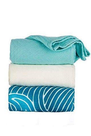 🚚 Waves - Tula Baby Blanket Set