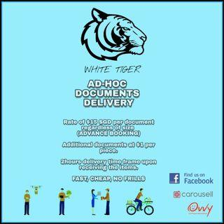 Documents delivery (AD HOC)