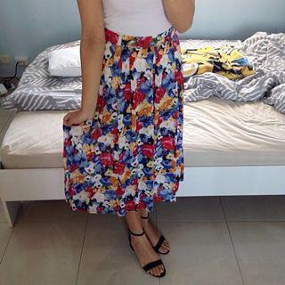 Stitches Item Floral Skirt