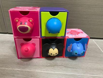 7-11 TSUM TSUM 百變組合BOX 收納盒