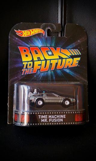 Hot Wheels Delorean with Mr fusion