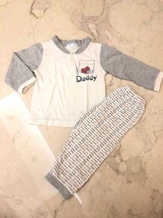 Moon Angel baby pajamas