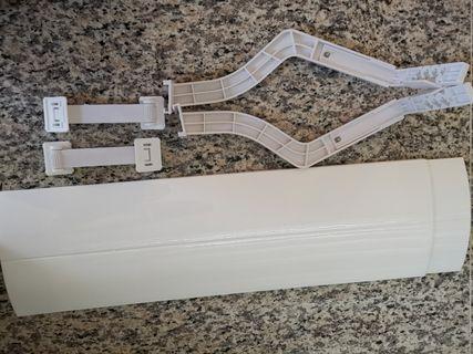 冷氣機遮風板 防直吹 可自由伸縮 調整長度和角度