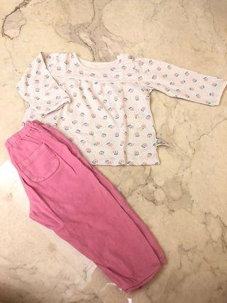Uniqlo sleepwear set