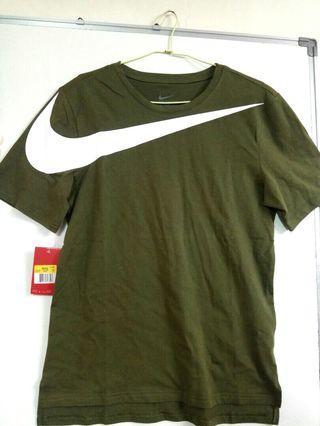 全新 含吊牌 Nike 耐吉 swoosh 棉質短t 夏季短t