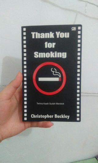 Novel Dewasa : Thankyou for Smoking