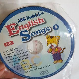 🚚 巧虎英文CD ABC bubbles 正品 全新 巧連智