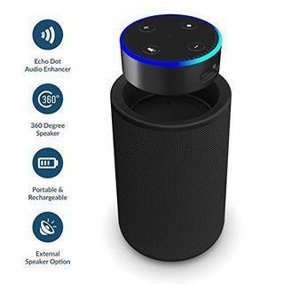 Portable Speaker Dock for Amazon Echo Dot