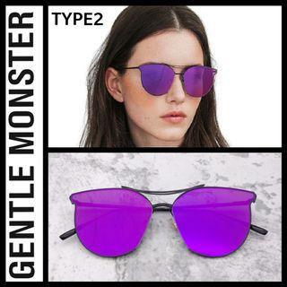 Gnetle Monster Type 2 purple mirror frame - clearence