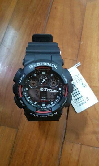 🚚 G Shock Analog-Digital Watch GA100-1A4