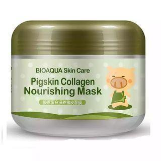 🚚 Bioaqua Pigskin collagen nourishing mask