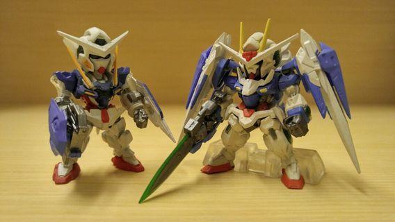 歡迎交換 Fw Gundam Converge 04 51 52 Exia OO / 00 高達 O Raiser