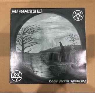 "Minotauri Doom Metal Invasion 10"" LP"