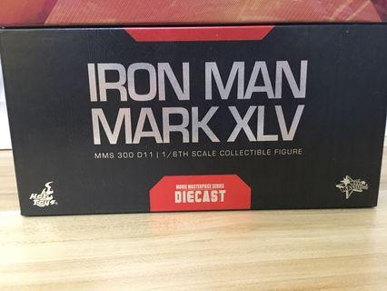 IRON MAN MARK XLV | MMS 300 D11 | 1/6TH SCALE COLLECTIBLE FIGURE | DIECAST