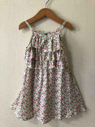100 (set of two)Benetton floral print dress