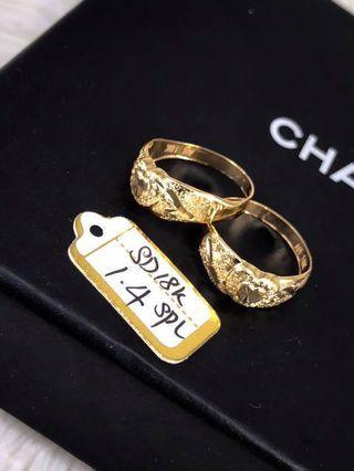 18k saudi gold ring price per item