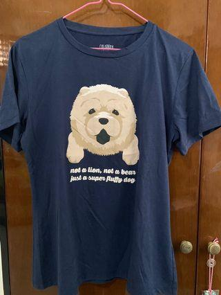 Colorbox Fluffy Dog T-shirt