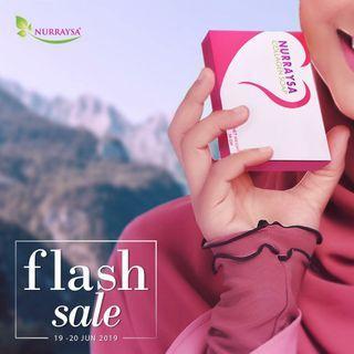 🚚 Flash Sale Nurraysa Collagen Soap × 2