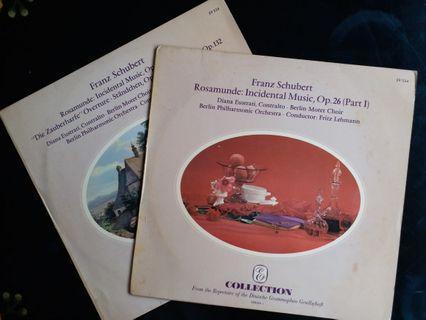 舒伯特〈羅莎蒙〉配樂、〈魔法豎琴〉序曲、小夜曲、詩篇第23篇