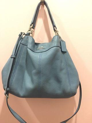 Coach Pebble Leather Lexy