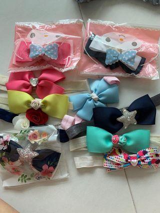 Baby Headbands (hand made)