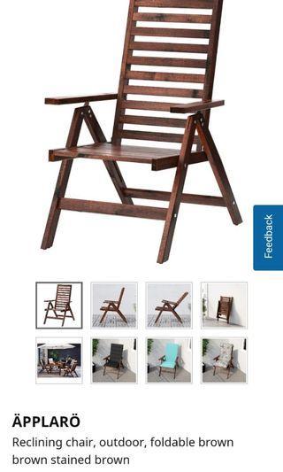 Applaro ikea folding chair