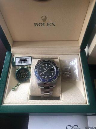 🚚 Rolex gmt 116710BLNR