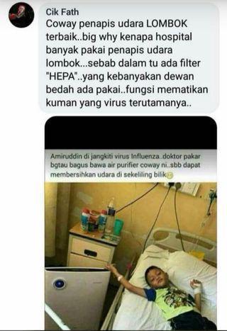 Penapis udara Lombok II