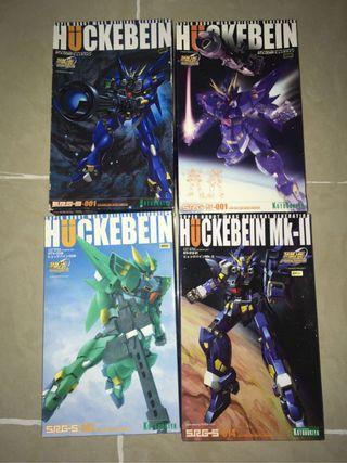 一套4盒 全新未砌 絕版 壽屋 1/144 huckebein 曉擊霸 兇鳥 SRG-S 001 srw og super robot wars 超級機器人大戰 模型 機戰 Gundam 高達 高達模型 hg mg rg original generation KOTOBUKIYA 002 014 mk2 mk-ii mark 2