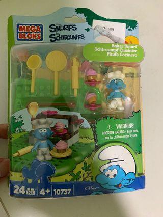 Mega Bloks The Smurfs Baker Smurf Set #10737